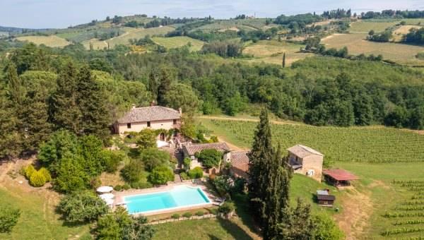 Vendita Azienda Agricola in Campagna Senese - Betti Immobiliare Toscana Rif 2233