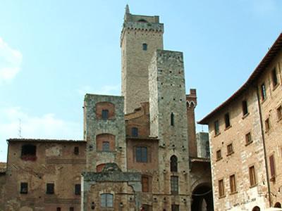 Le torri di San Gimignano in Toscana